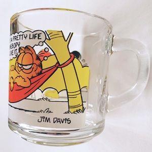 McDonalds Other - McDonald's 1978 Garfield Glass Mug